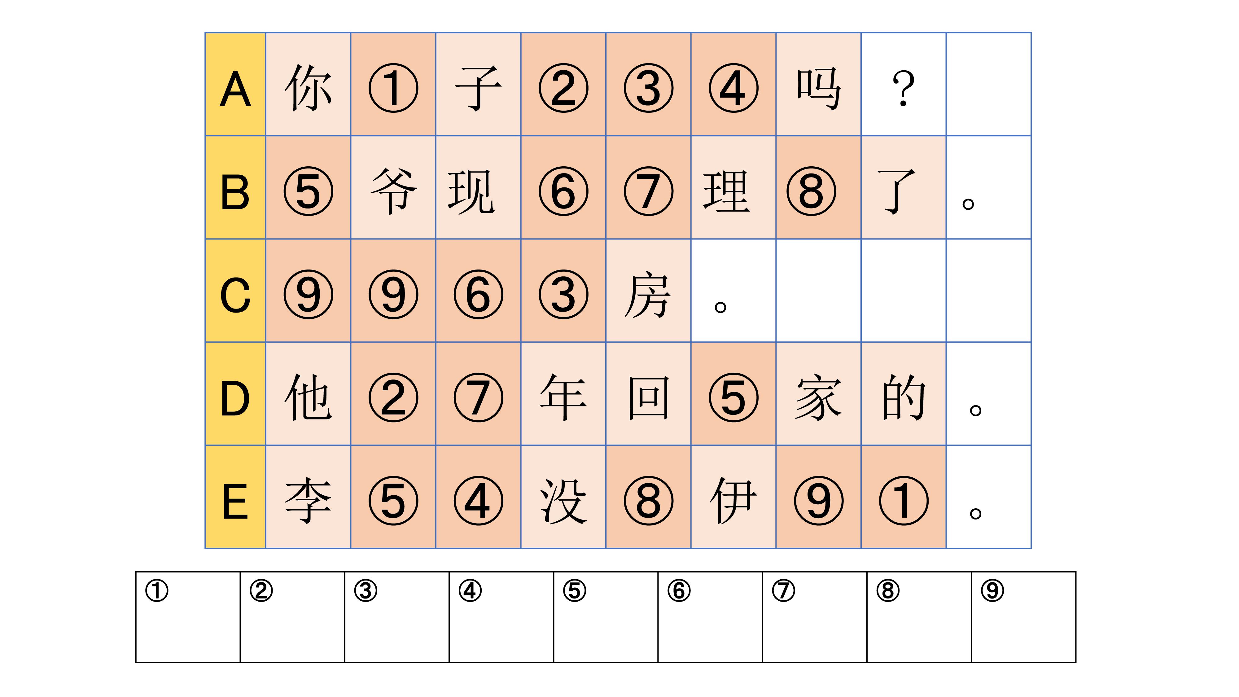 中国語でワードパズル チャイトレ 第2回 駿河台出版社