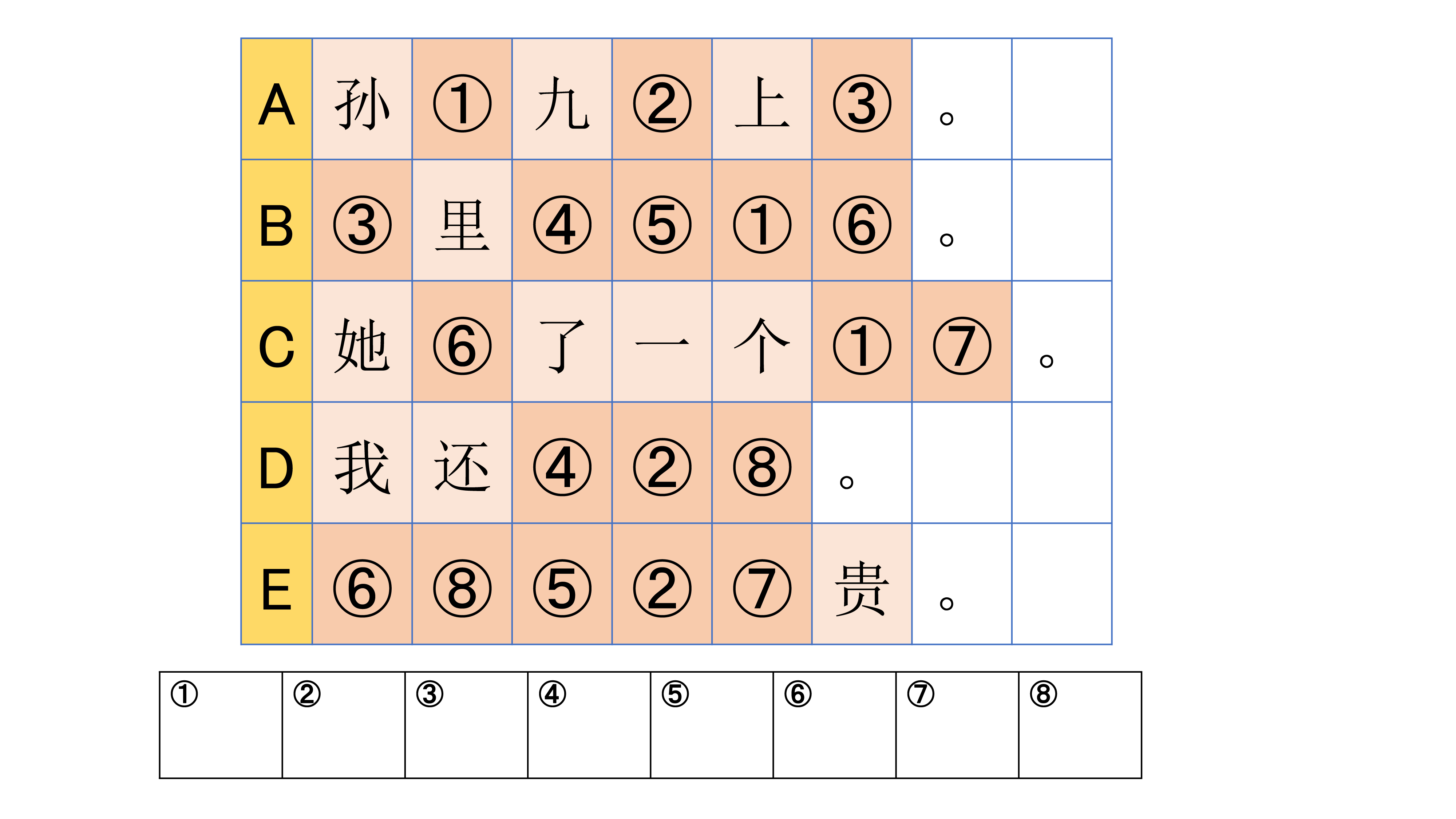 中国語でワードパズル チャイトレ 第4回 駿河台出版社