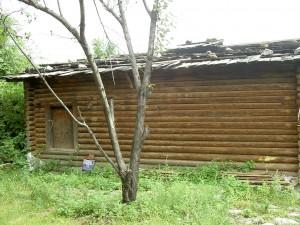 農村部の素朴な住居