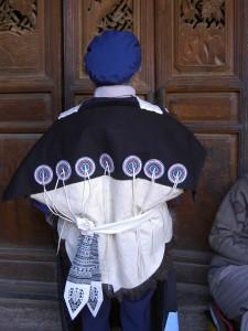 麗江ナシ族女性の民族衣装
